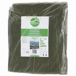 Toldo reforzado verde 5x8mt 120gr/m2