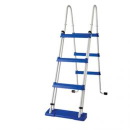 Escalera de tijera 2x3 peldaños 120cm de acero