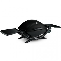 "Barbacoa de gas ""Q-2200""  negra 22.5x60cm"