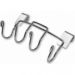 Ganchos porta-utensilios para barbacoa de carbón