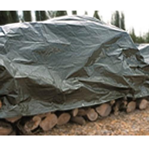 Toldo reforzado verde 3x4mt 120gr/m2