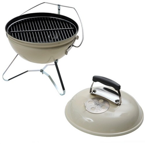 "Barbacoa de carbón "" Smokey Joe Premium""  blanca  37cm"