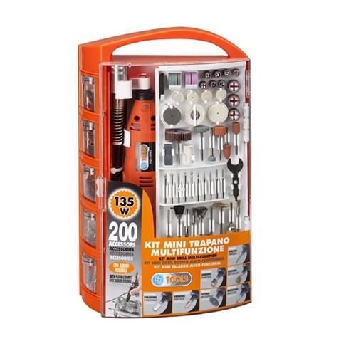 Multi-herramienta con 200 accesorios