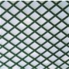 Celosía PVC fija verde 1x2mt cuadro de 48mm