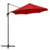 Parasol lateral 3mt. rojo