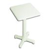Mesa de jardín blanca 60x60 cm.