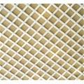 Celosía PVC fija blanca 1x2mt cuadro de 48mm
