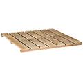 Tarima de madera 50cm x 50cm - 28mm alto