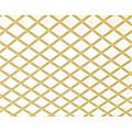 Celosía PVC fija caña 1x2mt cuadro de 48mm
