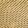 Celosía PVC fija caña 1x2mt cuadro de 18mm