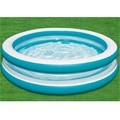 Piscina infantil hinchable pared transparente