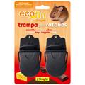 Trampa mecánica para ratones (2 unidades)