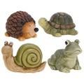 Figura caracol, rana, tortuga o erizo 30cm