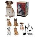 Figura perro con sonido 22cm