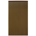 Cortina 210x90 cm marron oscuro