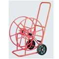 Carro portamangueras pintado epoxi ruedas neumáticas