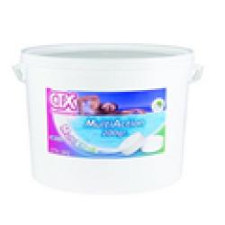 Multiacción Cloro-floculante-alguicida en tabletas - bote de 5 kg.