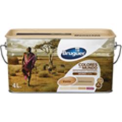 Pintura colores del mundo Kenia natural 4 litros