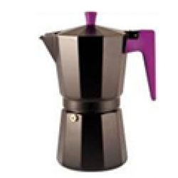 Cafetera italiana 9 tazas negra