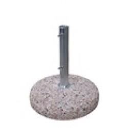 Pie cemento 25 kgs para tubo de 50 mm.